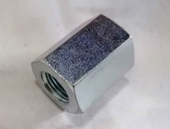 "3/8"" x 3/8"" bsp Hydraulic Fixed Female Barrel Connector"