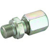 "6 mm od x 3/8"" bspp male stud coupling"