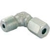 "6mm ( 12mm ) x 1/4"" bspt male stud elbow"