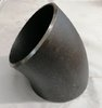 "4"" nominal bore 45 deg long radius weld elbow."